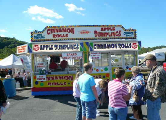 Festival Food Vendors